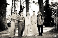 Yogacharini Macarena, Swamini Parvatiananda Maha Guru, Swamini Shakti Ma, Swamini Dayananda and mahatma krishananda, in Centro Internacional de Yoga Integral Kali-Shakti, Mar del Plata, Argentina, Diciembre 2015