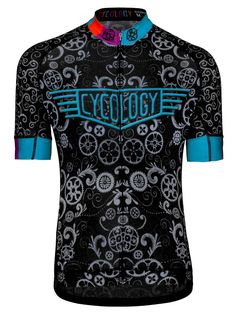 Lucky Chain Ring Men s cycling jersey from Cycology Unique Cycling Jerseys 238b4ef85