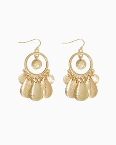 charming charlie | Sandblast Gypsy Earrings | UPC: 410006544413 #charmingcharlie