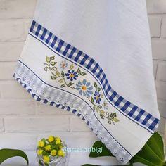 Cross Stitch Heart, Paw Patrol, Kitchen Towels, Needlework, Crochet, Dish Towels, Crochet Sunflower, Dishcloth, Towels