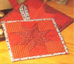 Fabric Art, Pot Holders, Sewing Projects, Applique, Gift Wrapping, Quilts, Christmas, Diy, Stitching