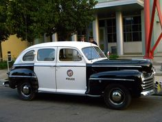 Los Angles PD late 40's Ford patrol car...