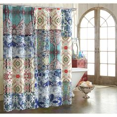 Tracy Porter Astrid Cotton Shower Curtain
