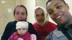 #São Paulo: Policial salva bebê em desmoronamento