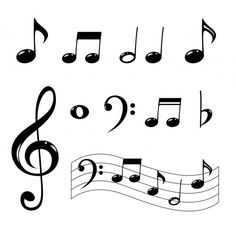 Large Printable Music Notes  Google Search  Stylish Cookies