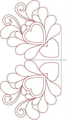 Free Motion Quilting Designs Flowers Machine Embroidery Ideas For 2019 Quilting Stencils, Quilting Templates, Quilting Tutorials, Patchwork Quilting, Quilt Stitching, Modern Quilting, Machine Quilting Patterns, Machine Embroidery Designs, Quilt Patterns