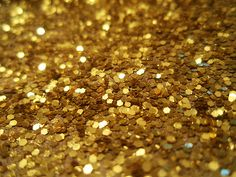 As a preschool teacher, glitter is part of my world. These tiny, shiny flecks are loved by little children, yet are detested for the problem their tiny size makes clean-up. Solar energy used to hav… Gold Luster Dust, Golden Glitter, Yellow Glitter, Fool Gold, Shades Of Gold, Fifty Shades, Gold Rush, All That Glitters, Color Stories
