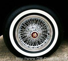 TRU SPOKES & VOGUE TYRES | WHEELS | Cadillac, Wheels ...