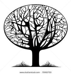 stylised tree drawing - Google Search