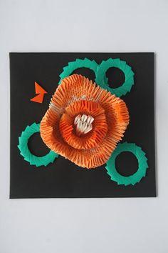 Water Lily by Chiyo Mizukoshi. Origami Paper. 759 pieces! People's Choice Award Winner