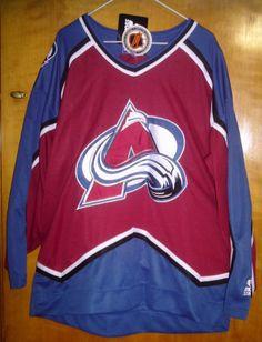 2be9ef19e37 Colorado Avalanche Starter NHL Jersey Size L