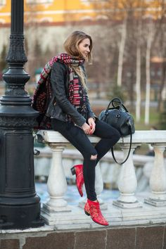 Best Street Style From Moscow Fashion Week Fall 2015 - Russian Street Style