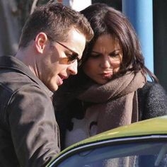 #OnceUponATime cast filming 4x20 - March 3, 2015