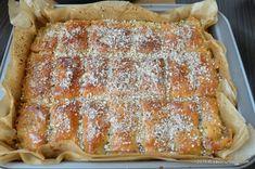 Baclava turceasca reteta cu nuca   Savori Urbane Lasagna, French Toast, Anna, Breakfast, Ethnic Recipes, Food, Morning Coffee, Essen, Meals
