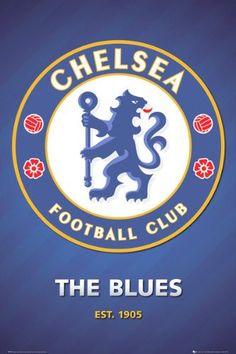 SPT36577 Chelsea Club Crest 2013 24X36