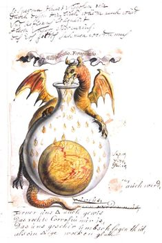 Alchemy: Alchemical images from the Beinecke Library Jhoan Isaac Hollandus, century Alchemical and Rosicrucian compendium. An artwork. Medieval Manuscript, Medieval Art, Illuminated Manuscript, Renaissance Art, Tarot, Alchemy, Book Of Shadows, Sacred Geometry, Oeuvre D'art