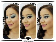 Un maquillaje en tonalidades verde aclararán tus ojos, les dará más expresión y proyectarán seguridad y confianza Visítanos: Cll 10 # 58-07 Sta Anita Citas: 3104444 #Peluquería #Estética #SPA #Cali #CaliCo