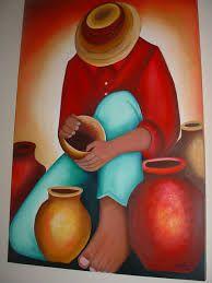arte plástica - Pesquisa Google Mexican Paintings, African Art Paintings, Love Painting, Fabric Painting, Art Péruvien, Peruvian Art, Southwestern Art, Mexican Folk Art, Naive Art