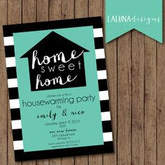 Housewarming Invitation Housewarming Party by LaLunaDesigns, $16.00