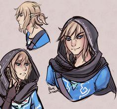 Link Doodles by RuneScratch on deviantART