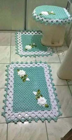27 Trendy Ideas For Crochet Patterns Bulky Yarn Hat Crochet - Diy Crafts Crochet Mat, Filet Crochet, Crochet Doilies, Crochet Flowers, Crochet Stitches, Crochet Hooks, Crochet Patterns, Doily Rug, Knitting Patterns