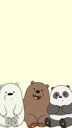 We Bare Bears Wallpaper 94 Images for We Bare Bears Characters Wallpaper - All Cartoon Wallpapers Cartoon Wallpaper, Bear Wallpaper, Mobile Wallpaper, Ice Bear We Bare Bears, We Bear, Cartoon Cartoon, We Bare Bears Wallpapers, Cute Wallpapers, Pardo Panda Y Polar