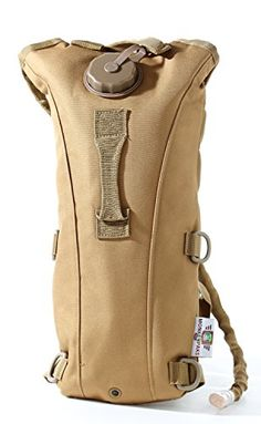 Small Hydration Backpack 25 L Water Bladder Included By Monkey Paks Tan ** Want to know more, click on the image.Note:It is affiliate link to Amazon.