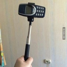 Wanted to make a selfie stick, made Thor's hammer
