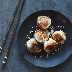 Stuffed Dumpling Wrappers // Drum Beets. Find this #recipe and more on our Dumplings Feed at https://feedfeed.info/dumplings?img=131581 #feedfeed