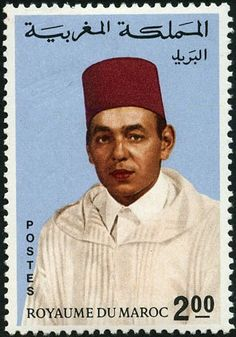 Le Roi Hassan 2, Timbre Collection, Mail Art, Stamp Collecting, Postage Stamps, King, Arabic Alphabet, Famous People, Collections