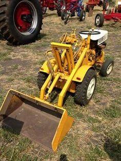 Small Tractors, Case Tractors, Old Tractors, Cub Cadet Tractors, Homemade Tractor, Tractor Loader, Tractor Attachments, Riding Mower, Metal Working Tools