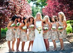 patterned-bridesmaid-dresses http://puertoricoweddingstyle.com/wedding-fashion-floral-print/ http://blog.stoutphoto.com/2010/05/12/kaitlin-and-andy-monte-verde-inn-wedding/