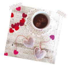 Valentinstag: Wärmende Herz-Teebeutel und ein romantisches Tea-for-2 Diy Tops, Wedding Details, Wedding Favors, Kids Rugs, Decor, Guest Gifts, Valentines Day, Heart, Wedding Keepsakes
