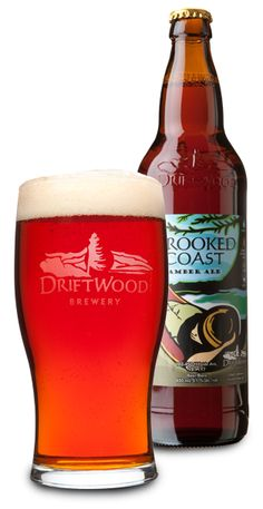 """This beer will turn a confirmed hops hater into a hops appreciator.  It's an Altbier or """"Old Beer"""" from Vancouver Island's DriftWood Brewery.  Crooked coast is just the right balance of malt-and hops to keep any beer drinker happy.  Great beer for summer patio drinking!"""
