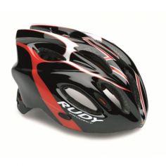 Casco de Ciclismo Rudy Project Snuggy negro-rojo-blanco | Trimundo  $1104.00