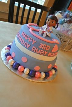 doc mcstuffins birthday cakes | Doc McStuffins Birthday Party | pincushions.hedgehogs.naps.
