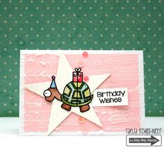 The Alley Way Stamps, TAWS, cards, clear stamps, It's my Party, Tanja Kewel-Neef