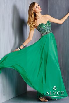 Alyce Prom Dress Style #6318 Full View
