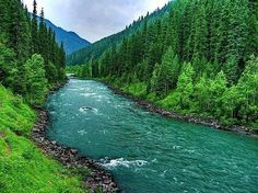 The natural beauty of Northern Pakistan.