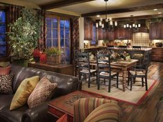 Natural Warmth Dining Room : Celebrity Communities : Dining Rooms : Pro Galleries : HGTV Remodels