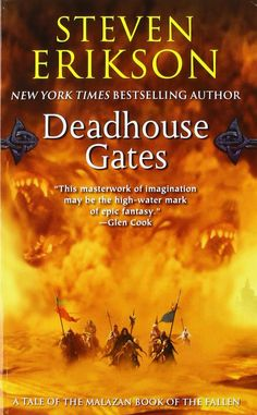 My review today is for: Deadhouse Gates by Steven Erikson Where to start on a review for this book/series? I mean with something on the epic scale and imagination as this story, characters, and wor…