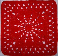 Pinwheel 12 Inch Square ~ free pattern
