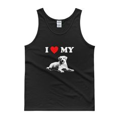 I Love My Lab - Men's Tank Top