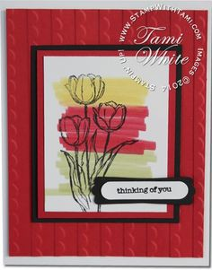 Stampin Up sympathy card from Blessed Easter stamp set in the Occasions Catalog 2014. Details on my blog. #stampinup