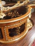 Inlaid baroque toilette, roman baroque style of the seventeenth century bedroom art. 2012