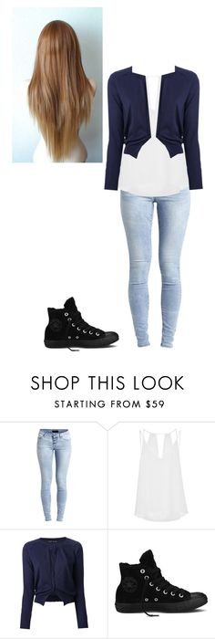 """""""Untitled #77"""" by rosewaltman ❤ liked on Polyvore featuring Object Collectors Item, Sandro, Aida Barni and Converse"""