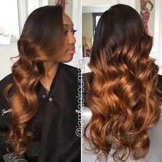 STYLIST FEATURE| Gorgeous  curls ➰
