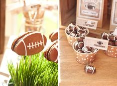 Anders Ruff Custom Designs, LLC: A Vintage Football Party – Packers Football Viewing Party