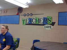 Cougar01: Teacher's Lounge Extreme Makeover