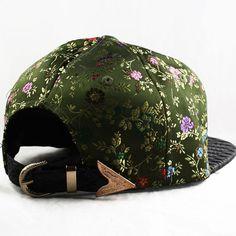 043075b2 Hater Snakeskin Silk Floral Strapback Hat Cap snapback 5 panel supreme NEW  | eBay Cool Hats
